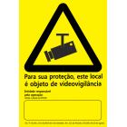 Para sua Protecção, este local é objeto de videovigilância.