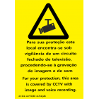Vigilância de um circuito fechado de televisão